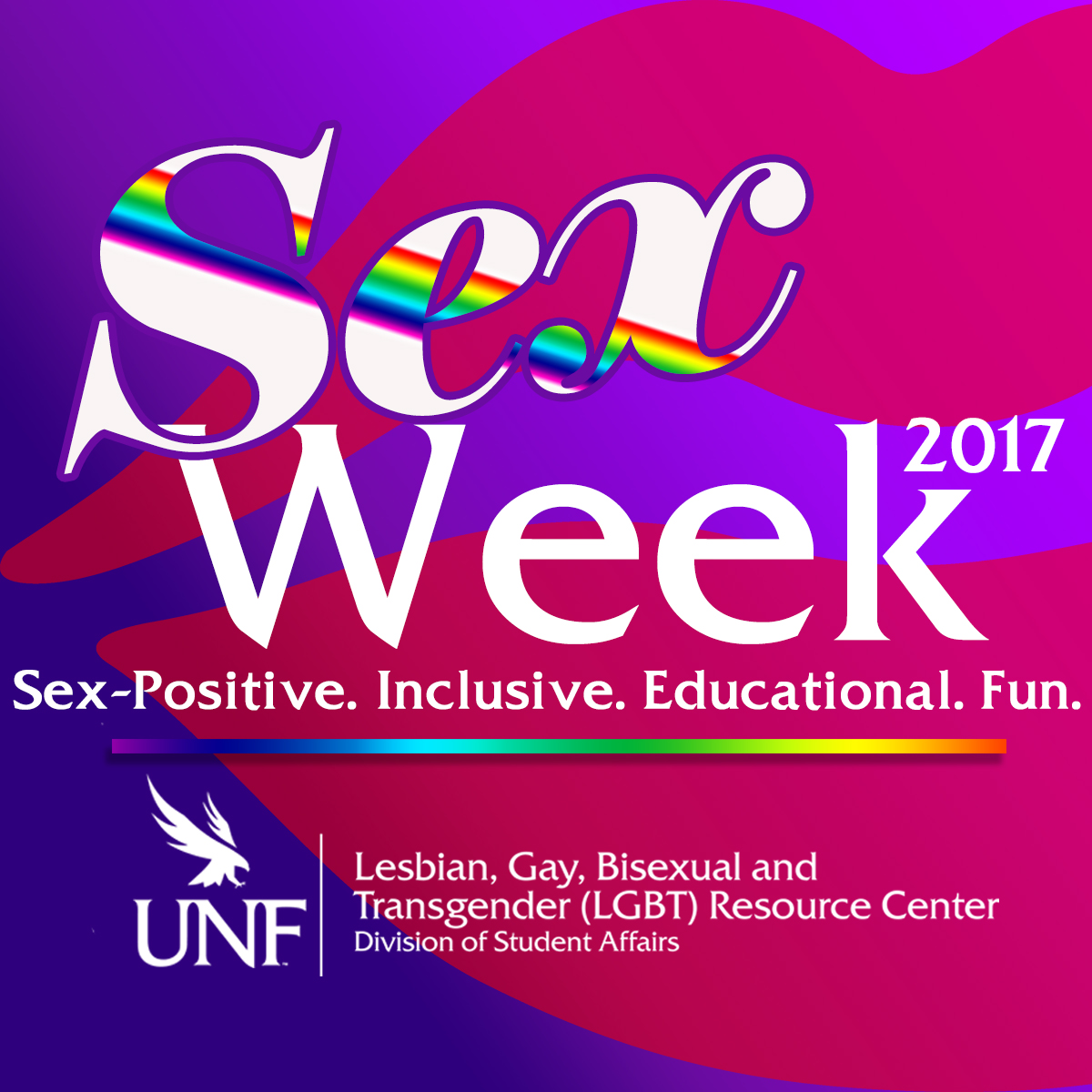 UNF Sex Week 2017 Logo