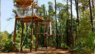outdoor ropes course