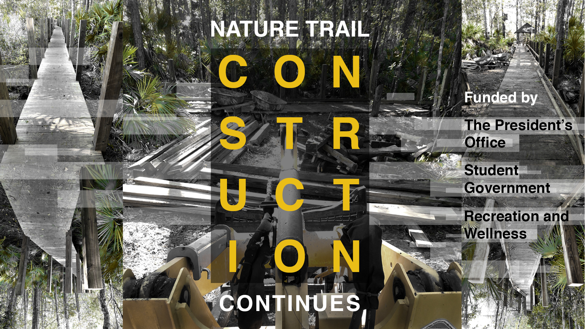 Nature trail construction continues