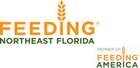 Feeding Northeast florida logo