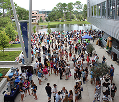 Unf Student Union Outdoor Spaces