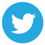 Twitter logo button, links to TLI Twitter page
