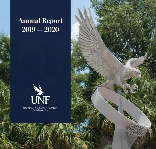 Statue of Osprey - Annual Report 2019-2020