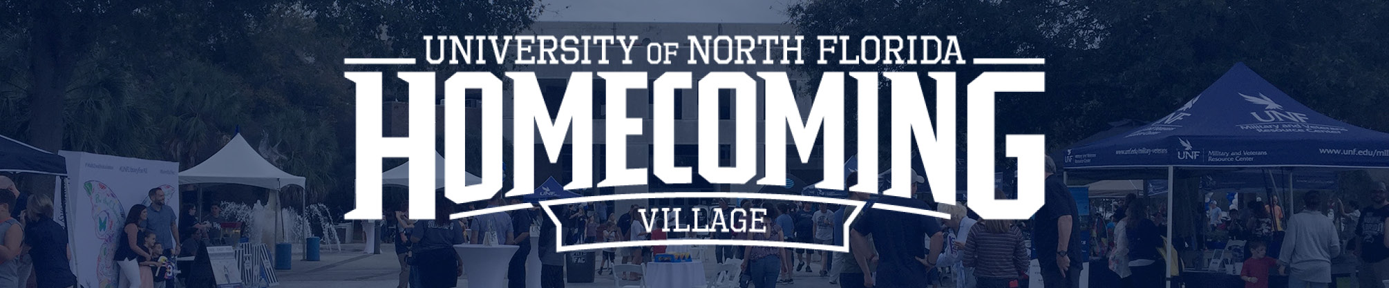 Homecoming Village 2020 Banner
